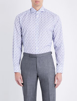 Eton Paisley contemporary-fit cotton shirt