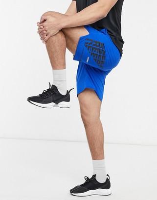 Reebok Training epic shorts in blue