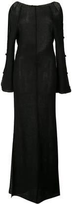Eckhaus Latta cut out sleeve dress