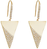 Lana 14k Flawless Spike Pave Diamond Drop Earrings