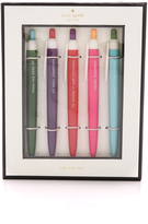 Kate Spade So Well Composed Assorted Pen Set
