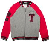 True Religion Heather Gray & Red 'Outlaws' Varsity Jacket - Toddler & Boys