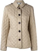 Burberry classic quilted jacket - women - Cotton/Polyester - L