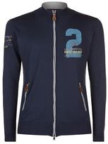 La Martina Polo Match Embroidered Knit Jacket