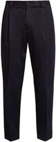 Acne Studios Abram slim-leg cotton-blend trousers