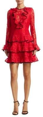 Alexis Tracie Ruffle Mini Dress