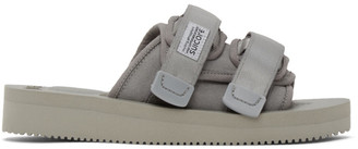 Suicoke Grey Moto-VS Sandals