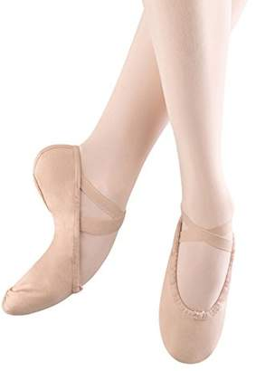 Bloch Girls Pump Split Sole Canvas Ballet Shoe/Slipper