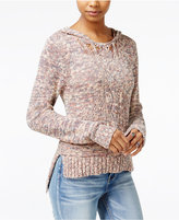 American Rag High-Low Hooded Sweater, Only at Macy's