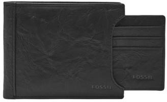Fossil Neel Sliding 2 In 1 Wallet Black