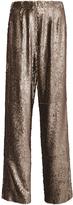 Prabal Gurung Metallic Sequined Relaxed Fit Pants