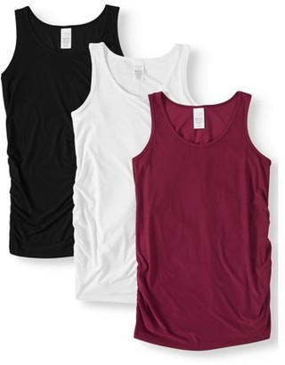 Time and Tru Maternity Tank 3-pack