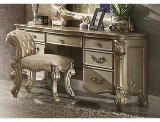 Astoria Grand Troutman Spacious Wooden Vanity Set Color: Bone White