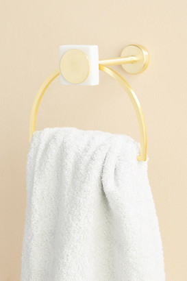 Anthropologie Beverly Towel Ring By in White Size ALL