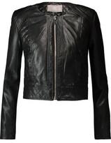 Tart Collections Ronda Paneled Faux Leather Jacket
