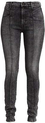 Mother The Seamed Swooner Skinny Jeans