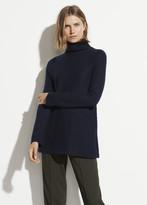 Cashmere Side Slit Tunic