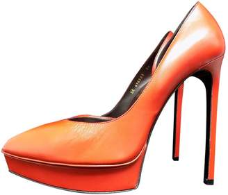 Saint Laurent \N Red Patent leather Heels