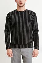 Forever 21 FOREVER 21+ Striped Raglan Pullover