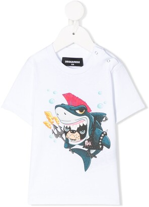 DSQUARED2 Shark Dog T-shirt