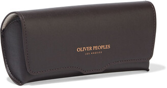 Oliver Peoples Kallen Aviator-style Gold-tone Sunglasses