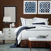 Williams-Sonoma Williams Sonoma Chain Link Embroidered Bedding, Sale