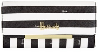 Harrods Boutique Multi Stripe Wallet