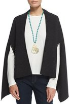 Eileen Fisher Fisher Project Snap-Front Cape