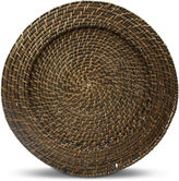 JCPenney Jay Imports Round Rattan Set of 4 Chargers