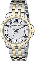Raymond Weil Men's 5591-STP-00657 Tango Analog Display Swiss Quartz Two Tone Watch