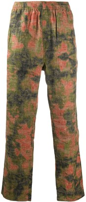 Stussy Reverse Jacquard Relaxed Trousers