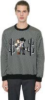 Dolce & Gabbana Cowboy Family Printed Twill Sweatshirt