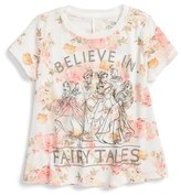 Mighty Fine Toddler Girl's Believe In Fairy Tales Graphic Tee