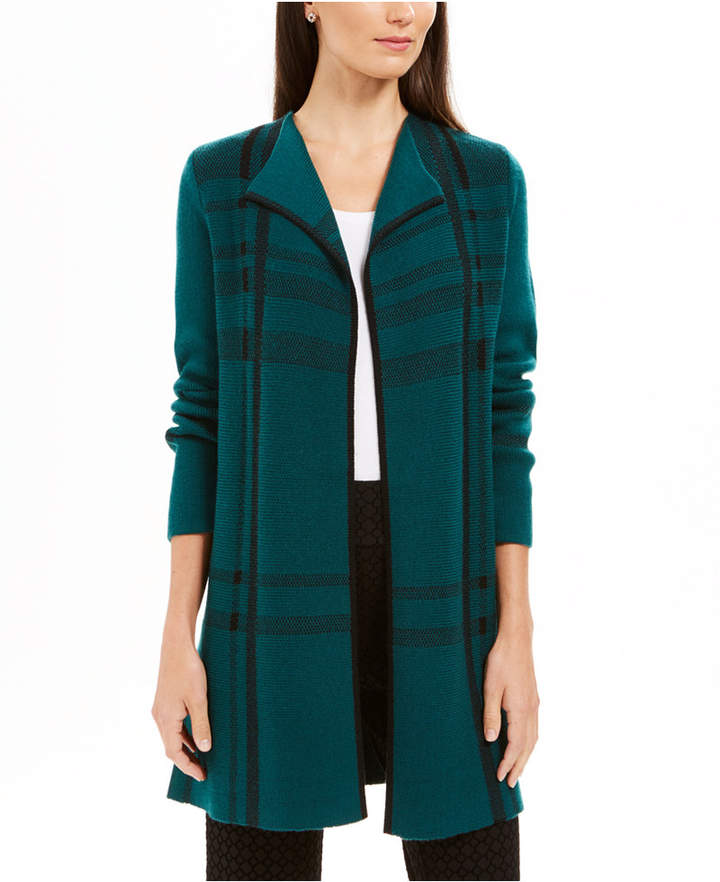 Charter Club Petite Open-Front Cardigan