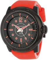Glam Rock Men's MB26024 Miami Beach Dial Silicone Watch