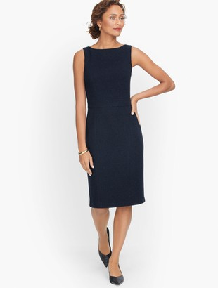 Talbots Knit Tweed Sheath Dress