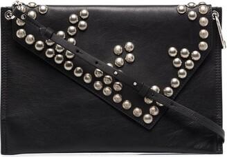 Isabel Marant Tryne studded leather shoulder bag