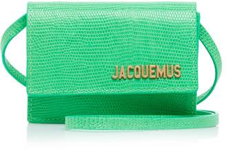 Jacquemus Le Bello Textured-Leather Bag