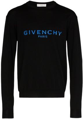 Givenchy Logo Print Sweatshirt