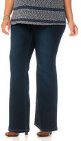Motherhood Plus Size Long Secret Fit Belly® Super Stretch Boot Cut Maternity Jeans