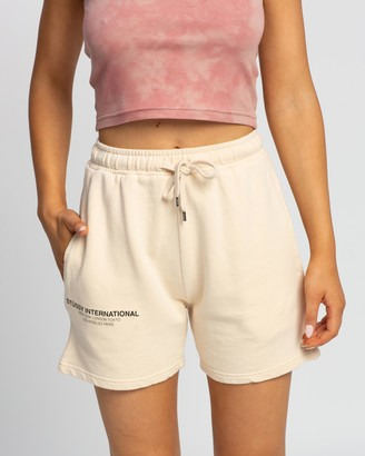 Stussy Text Low Waisted Shorts