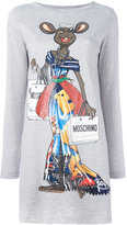 Moschino Rat-A-Porter T-shirt dress - women - Cotton - XS