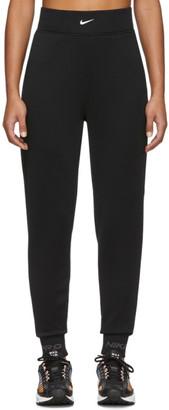 Nike Black Pro Fleece Lounge Pants