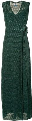 M Missoni Zig-Zag Knit Dress
