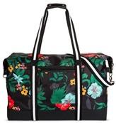Mossimo Women's Tropical Print Weekender Bag Black