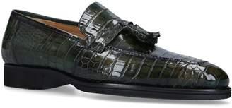 Brotini Crocodile Tassel Loafers