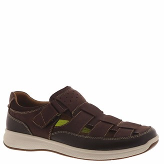 Florsheim Great Lakes Fisherman Sandal Brown Crazy Horse