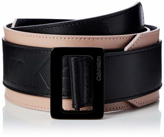 Calvin Klein Women's 6cm Waist Large Buckle Belt