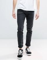 Jack and Jones Intelligence Jeans in Slim Fit Distressed Denim
