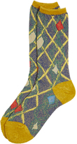Vivienne Westwood Geo Orb Socks Yellow One Size